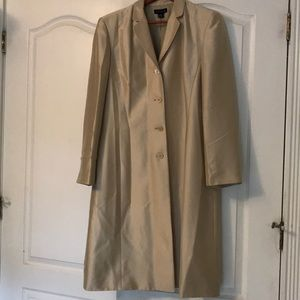 Ann Taylor silk blazer jacket
